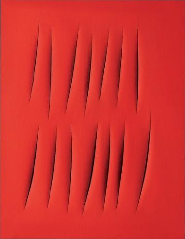 Concetto spaziale, Attese (1965) - da artslife