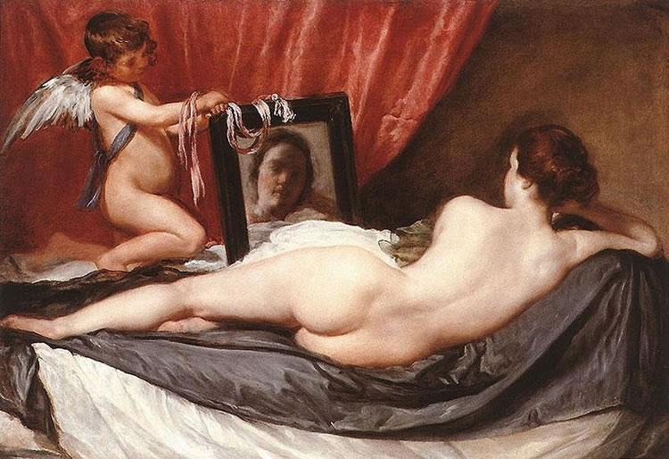Diego Velàzquez - Venere Allo Specchio - 1650- da Il Caffé dell'Arte