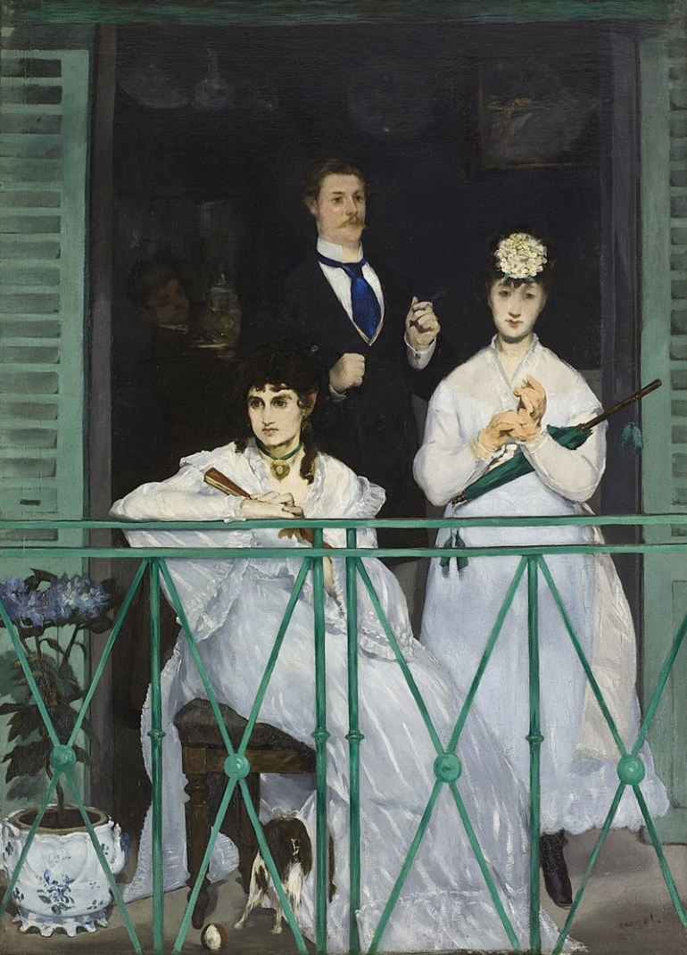 Edouard Manet - The Balcony - 1868 - da Wikipedia