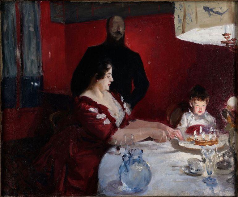 Festa di compleanno (J.S. Sanger, 1887) - da Wikipedia