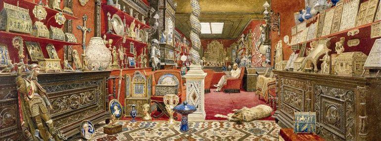 Il collezionista di meraviglie, Basilewsky - da Antiques Magazine