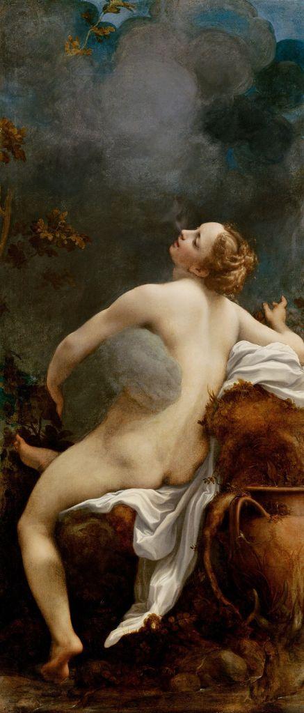 Io avvolta da Zeus sotto forma di nube, Correggio (1489 -1534) ), Museo del Louvre, Parigi (Francia) - da Wikipedia