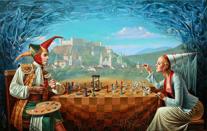 Michael Cheval, New rules of the old game, 2011 - da Daniela Scarel