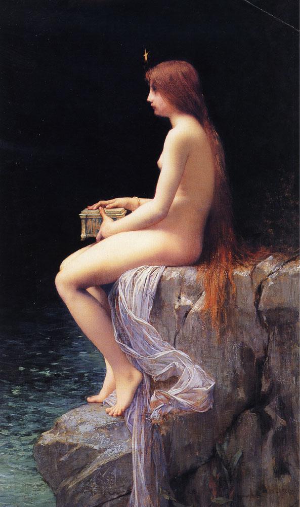 Pandora (1882) di Jules Joseph Lefebvre - da Wikipedia