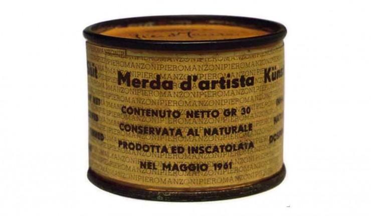 Piero Manzoni, Merda d'artista, 1961 - da CTS Notizie