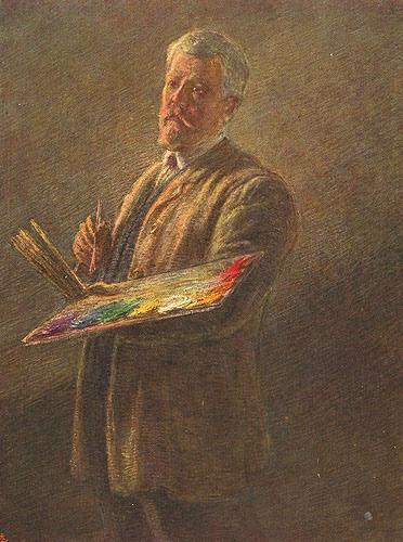 Previati, Autoritratto (1911) - da Wikipedia