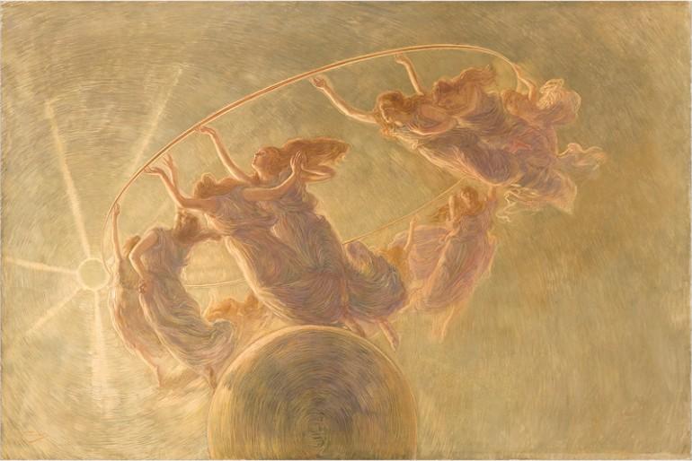 Previati Gaetano, La Danza delle Ore, 1899 - da Wikipedia
