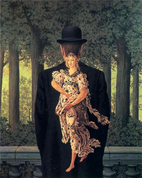Reneé Magritte, The Prepared Bouquet, 1951- da Kenga Rex
