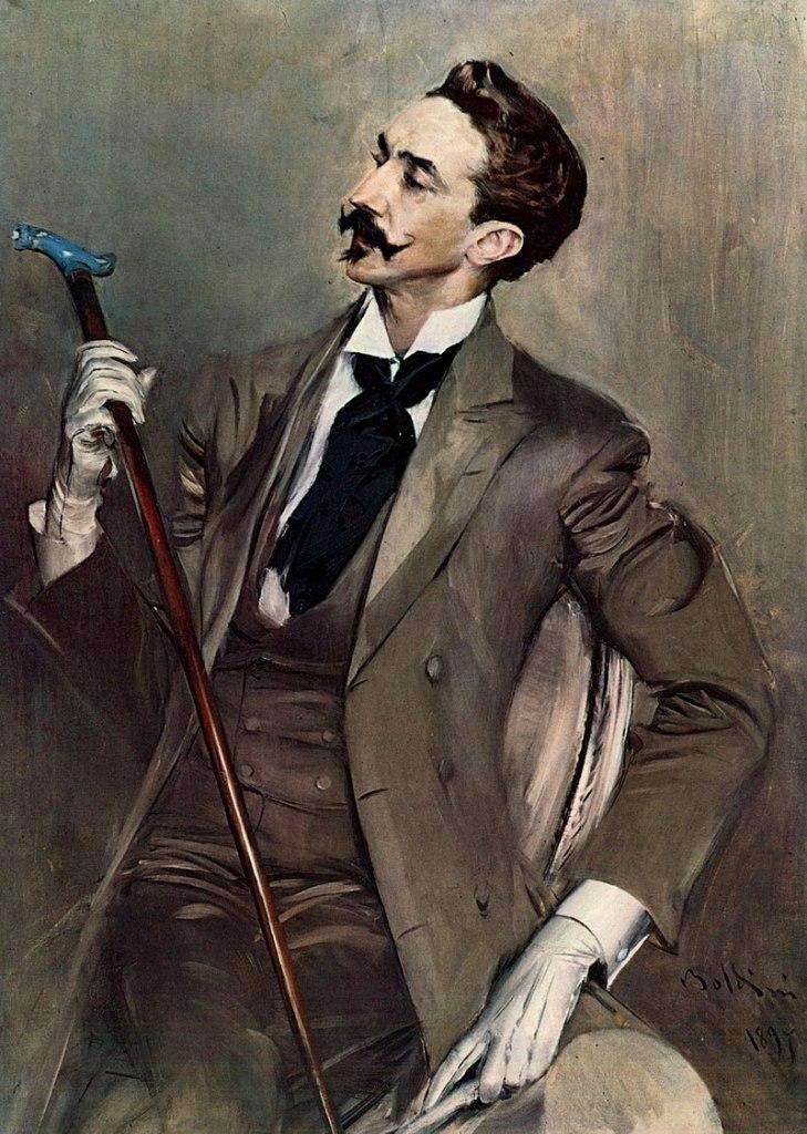 Ritratto di Robert de Montesquiou, 1897, Museo d'Orsay, Parigi. - da Wikipedia