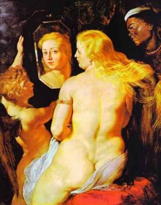 Rubens-Venere allo specchio 1615 - da Rigo Camerano