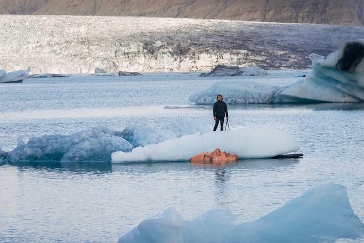 Sean Yoro's A'o 'Ana Glacier Mural Is Activist Cry Against Global Warming - da Anne of Carversville