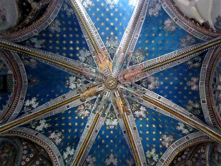 tardogotica cappella di San Biagio nella Cattedrale di Toledo - da Didatticarte