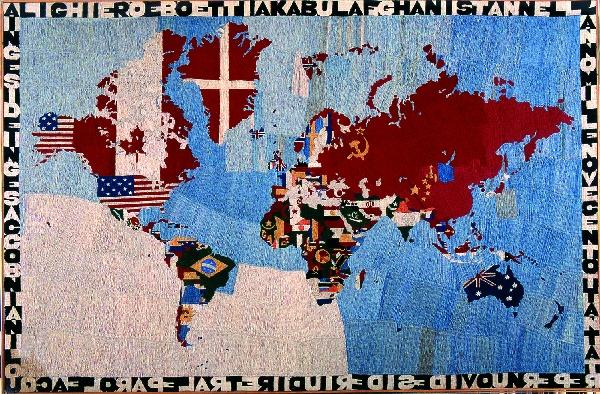 Alighiero-Boetti_Mappamondo-1984-1984 - da Artribune
