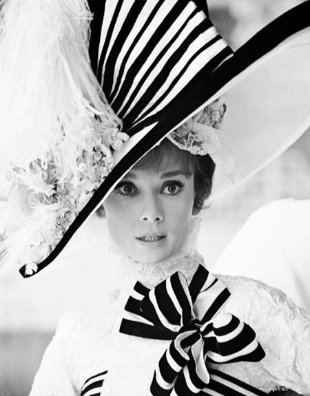 Audrey Hepburn in 'My Fair Lady', costume by Cecil Beaton - da Vida da Museo