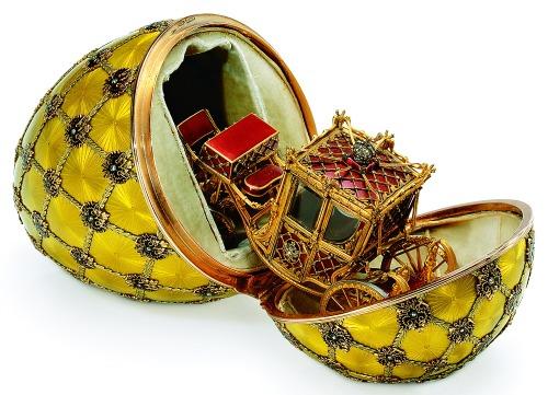 Fabergé, Uova Incoronazione Imperiale 1, Le uova Faberge' i preziosi gioielli di Pasqua - da Molù