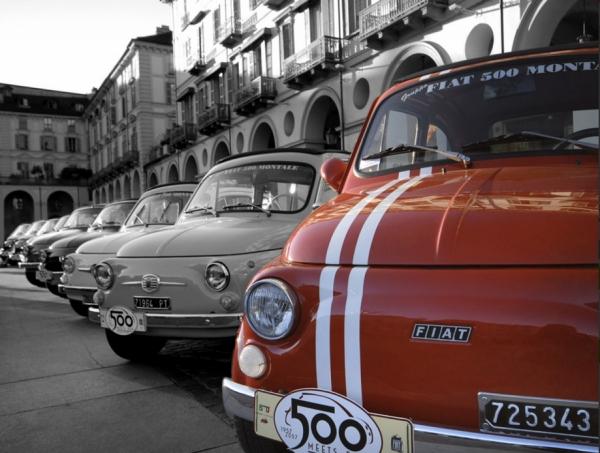 Fiat 500 Storiche - da Living DECO