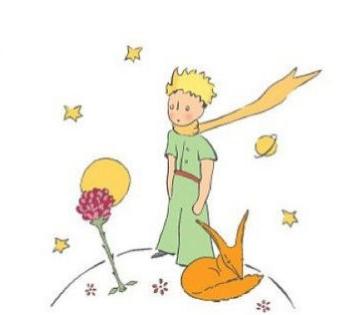 Le petit Prince et la Rose - Antoine de Saint Exupery