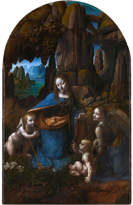 Leonardo da Vinci, La Vergine delle rocce 1491-1508