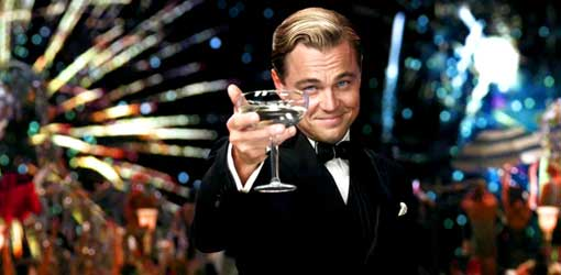Leonardo di Caprio ne Il Grande Gatsby - da Fotografia Moderna
