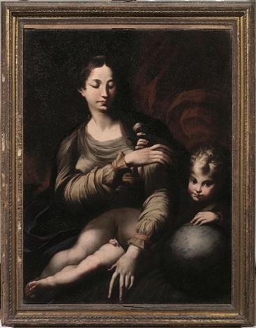 Parmigianino, Madonna della rosa, 1530 ca - da Artnet