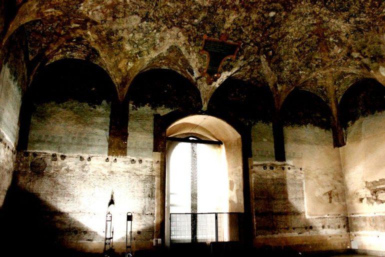 Sala_VIII - Sala delle Asse, Monocromo, Leonardo da Vinci - da Wikipedia