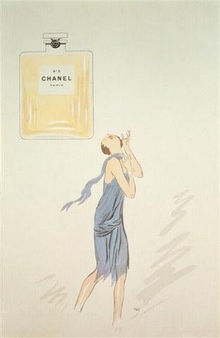 Vignetta di Sem, prima immagine nota di Chanel No. 5 - da Wikipedia