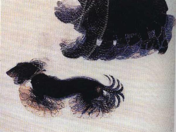 Dinamismo di un cane al guinzaglio. Giacomo Balla, 1912 - da ARTE