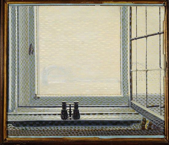 Giacomo Balla, Finestra di Dusseldorf, 1912 - da Archiwatch