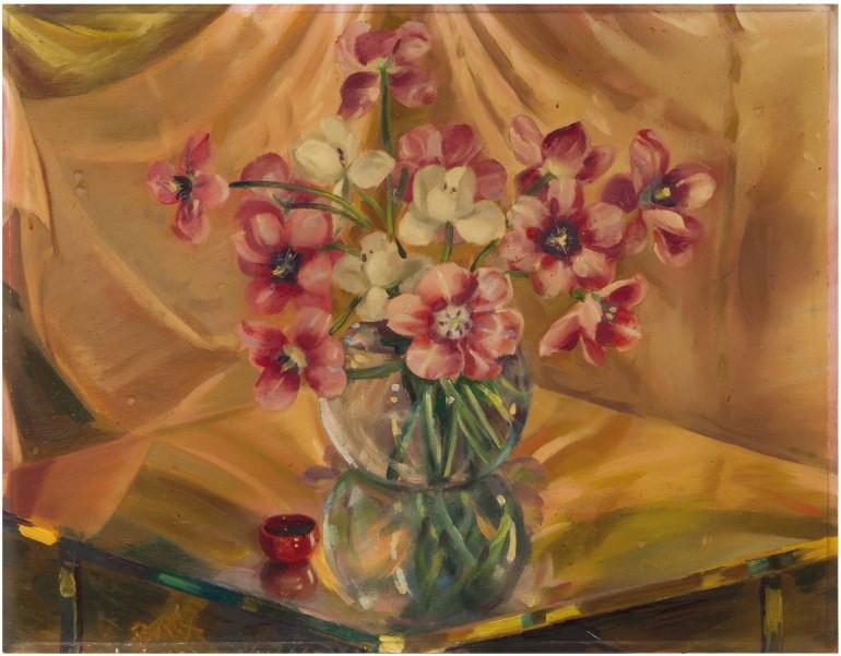 Giacomo Balla, Penombra, Riflesso di Tulipani, 1940 - da Cambi Auction House