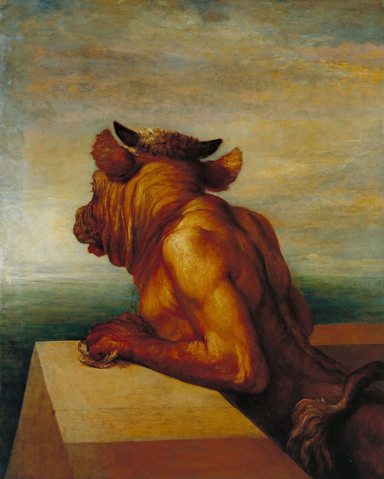 George Frederic Watts The Minotaur, 1885 - da Wikipedia