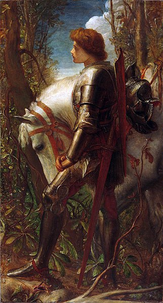 George Frederick Watts, 1860-62, Sir Galahad - da Wikipedia