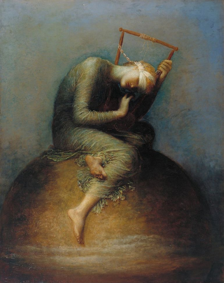 George Frederic Watts, Hope, painted in 1886 and given to the nation in 1897 - da Wikipedia