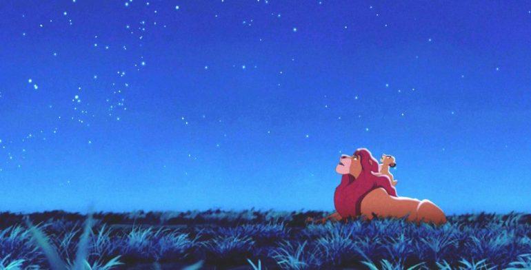 Il Re Leone, Mufasa e Simba - da FilmPost