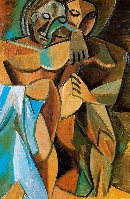Pablo Picasso – Amicizia, 1908, periodo africano - da Cinque Cose Belle