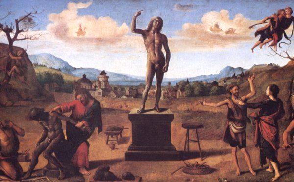 Prometeo, Piero di Cosimo, 1515, Monaco di Baviera - da elicriso