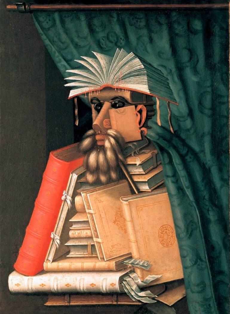 Arcimboldo, Il Bibliotecario, 1566 - da Cultura - Biografieonline