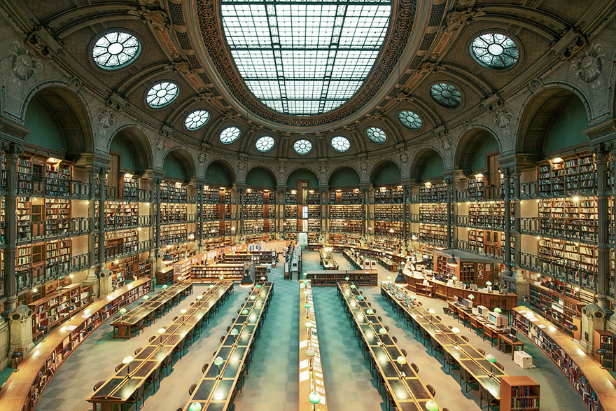 Biblioteca Nazionale di Francia, Parigi - da Incredinilia