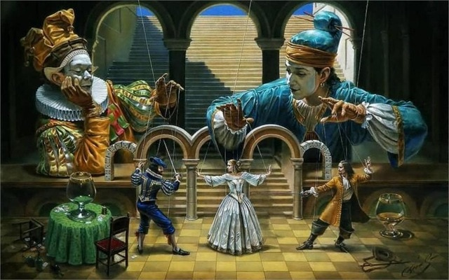 Michael Cheval, Art of Diplomacy III - da pl.elexpress