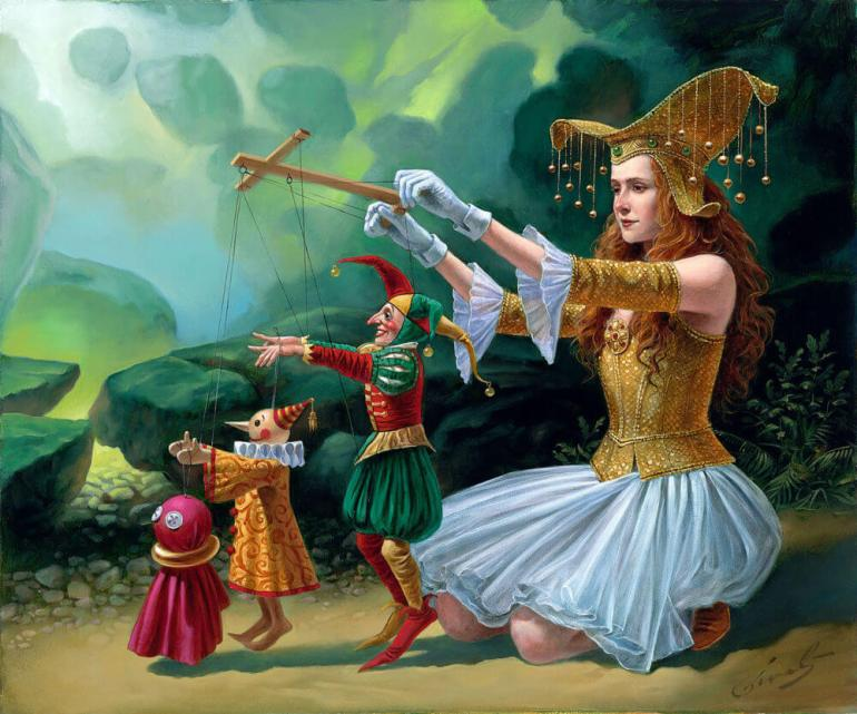 Michael Cheval, Evolution, 2015 - da Park West Gallery
