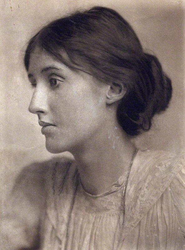 NPG x27535; Virginia Woolf (nÈe Stephen) by George Charles Beresford