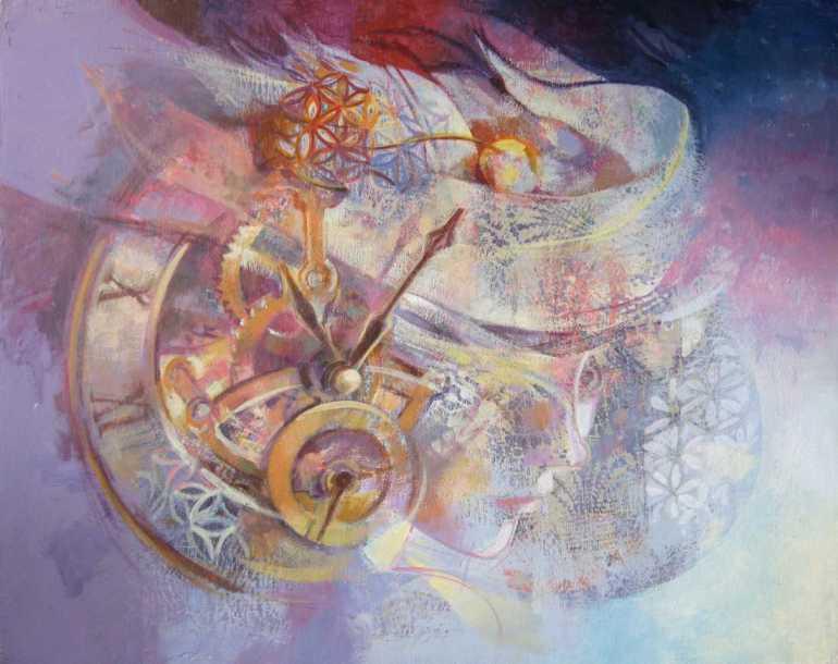 La Signora del Tempo, Marisa Falbo, 2012 - da Artegante
